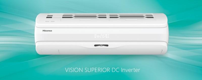 Сплит-система Hisense VISION Superior DC Inverter