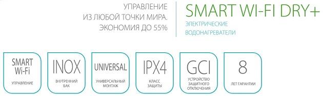 Водонагреватель Ballu BWH/S 30 Smart WiFi DRY+ купить в Санкт-Петербурге