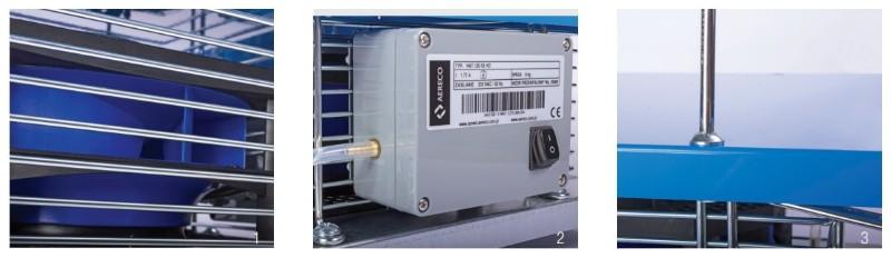 Крышный вентилятор для механической вентиляции Aereco HAT