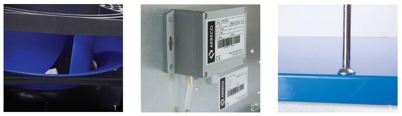Центральный вентилятор для механической вентиляции Aereco VCR