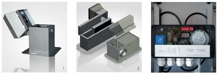 VTZ - Крышный вентилятор для жилых и общественных зданий Aereco